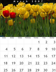 Monthly Giving Calendar