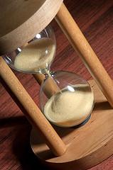 Fundraising Hourglass
