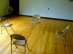 Empty Donor Meeting Room