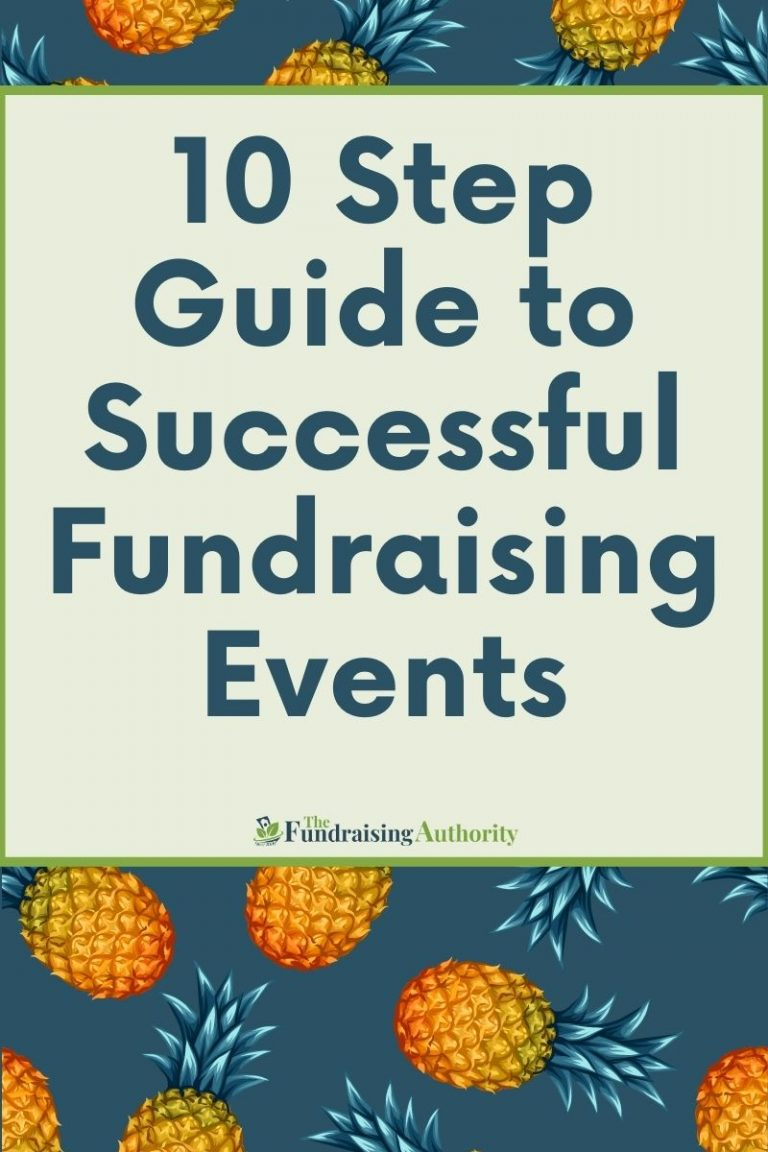 A 10 Step Guide to Throw a Successful Fundraising Events