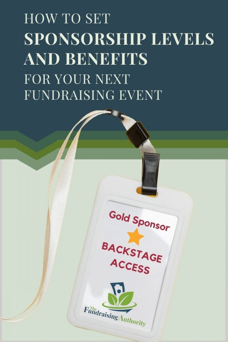 How to Set Sponsorship Levels and Benefits for Your Next Fundraising Event(1)